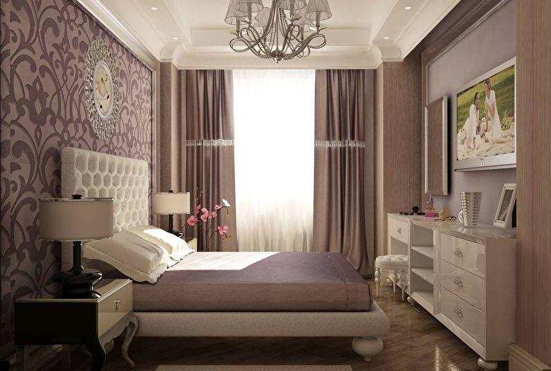 Дизайн спальни 12 кв м: выбор цветового оформления и мебели (фото)1