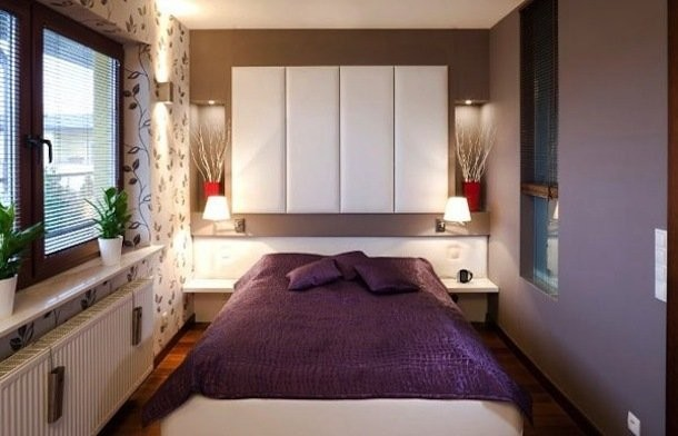 Дизайн спальни 12 кв м: выбор цветового оформления и мебели (фото)2
