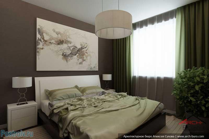 Дизайн спальни 12 кв м: выбор цветового оформления и мебели (фото)6