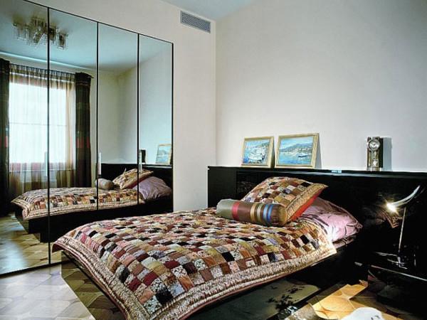 Дизайн спальни 8 кв м: правила оформления, выбор мебели2