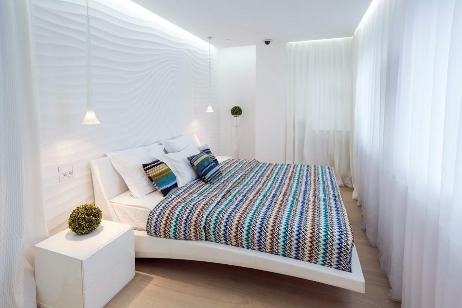 Дизайн спальни 8 кв м: правила оформления, выбор мебели3