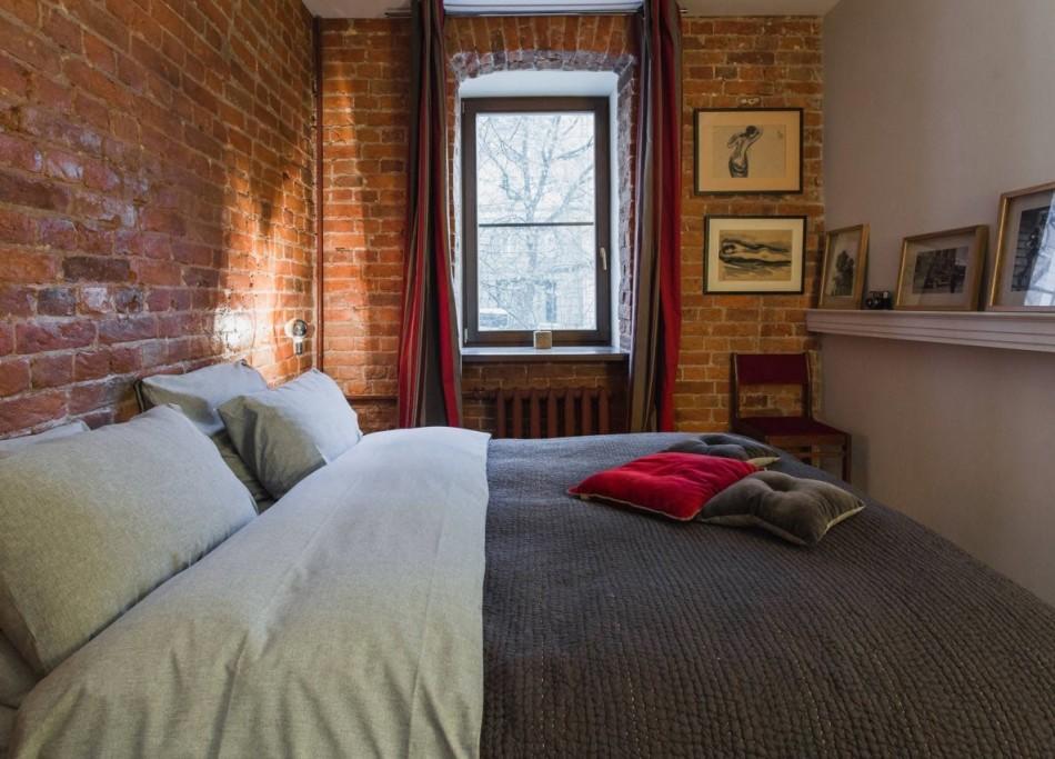 Дизайн спальни 8 кв м: правила оформления, выбор мебели4