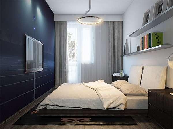 Дизайн спальни 8 кв м: правила оформления, выбор мебели7