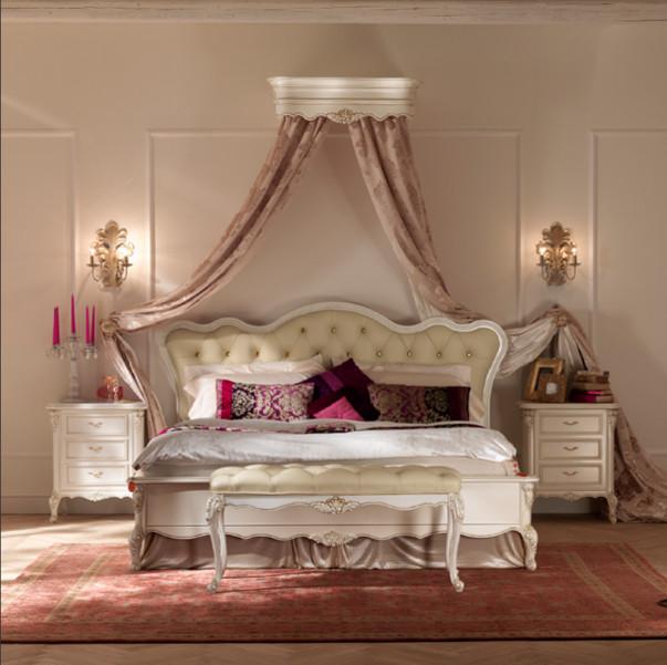 Дизайн спальни с балдахином над кроватью (фото и видео)2