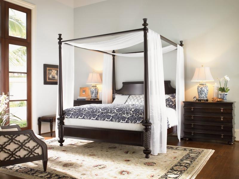 Дизайн спальни с балдахином над кроватью (фото и видео)4