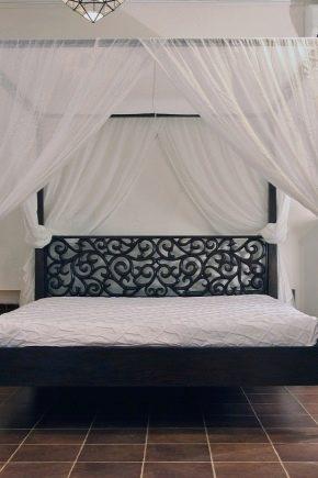 Дизайн спальни с балдахином над кроватью (фото и видео)8
