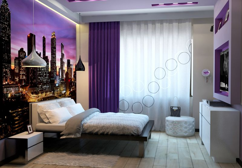 Дизайн спальни с диваном вместо кровати: правила2