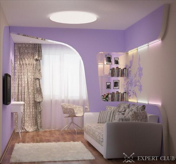 Дизайн спальни с диваном вместо кровати: правила4