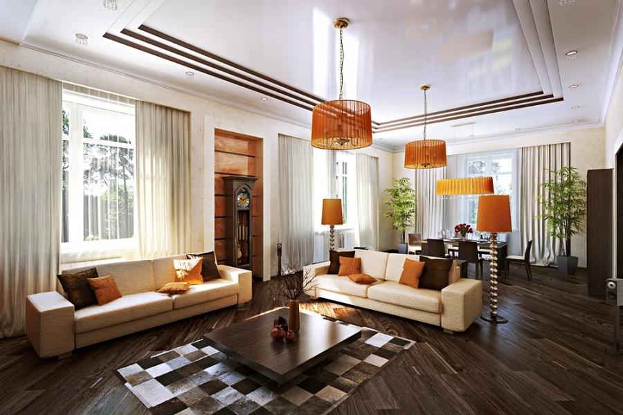 Дизайн спальни с камином: стиль кантри и китч в частном доме (фото)2