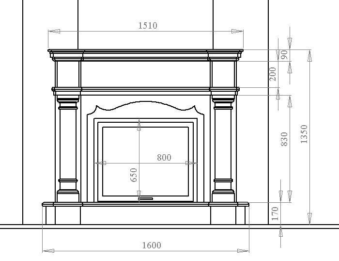 Дизайн спальни с камином: стиль кантри и китч в частном доме (фото)3