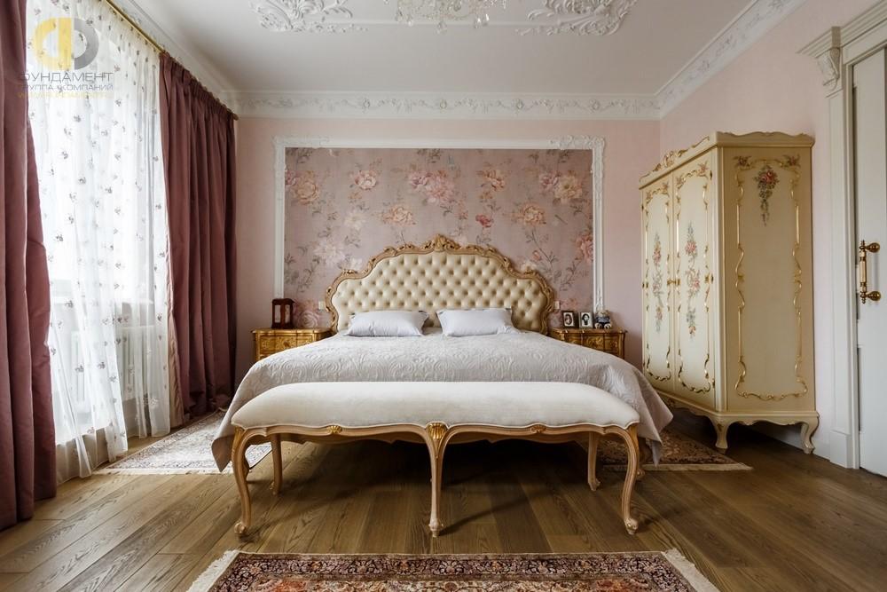 Дизайн спальни в классическом стиле2