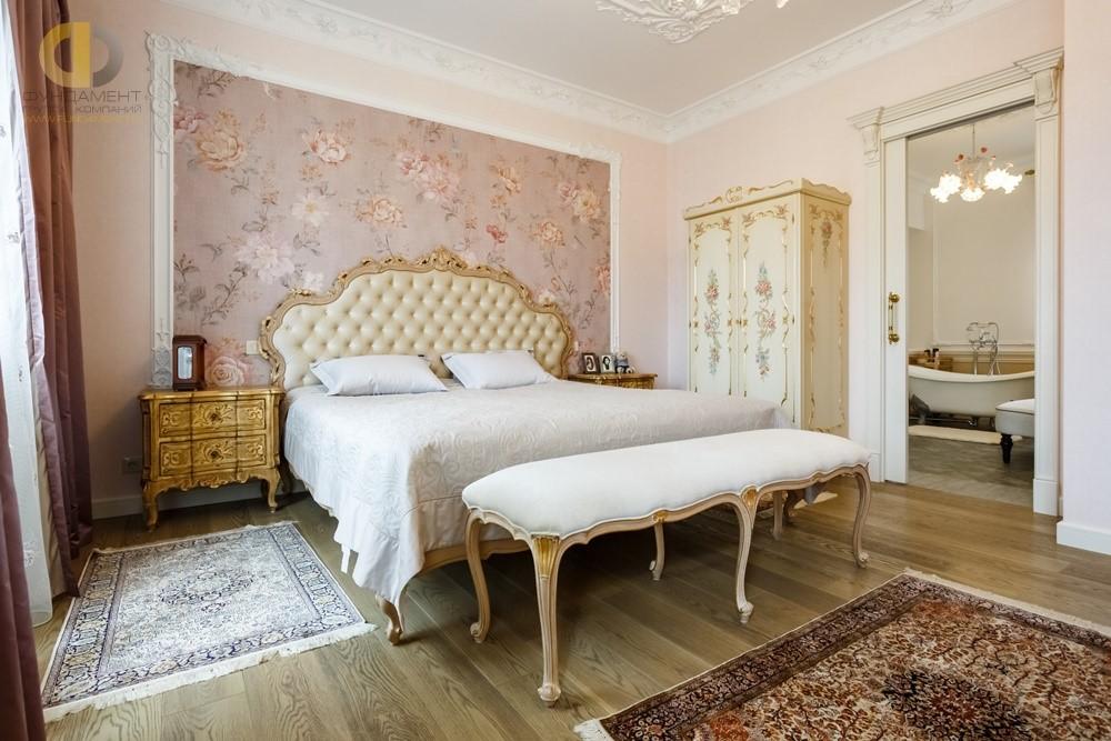 Дизайн спальни в классическом стиле3