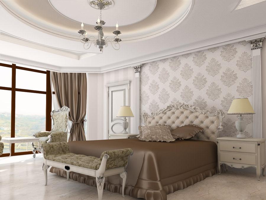Дизайн спальни в классическом стиле4