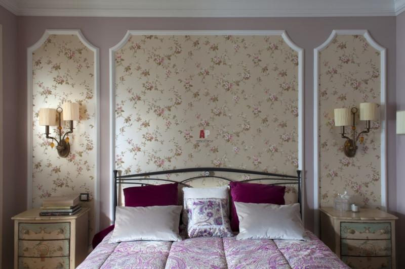 Дизайн спальни в стиле прованс: особенности оформления, освещение и мебель (фото и видео)5