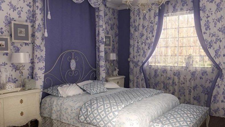 Дизайн спальни в стиле прованс: особенности оформления, освещение и мебель (фото и видео)0