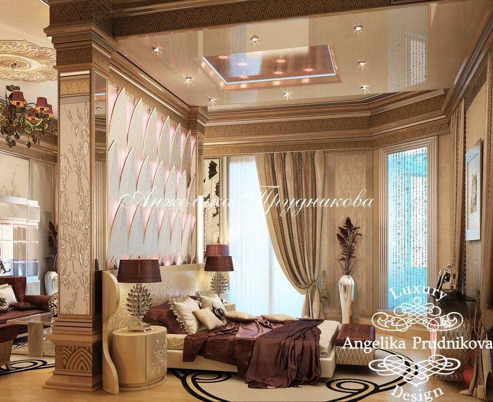 Дизайн вместительной гостиной в стиле неоклассика6