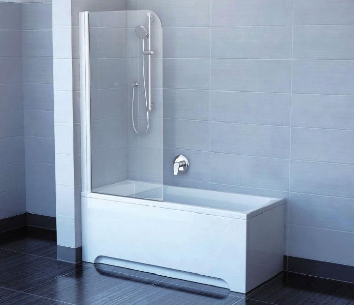 Дизайнеры советуют: декорируем ванную при помощи стеклянных шторок2