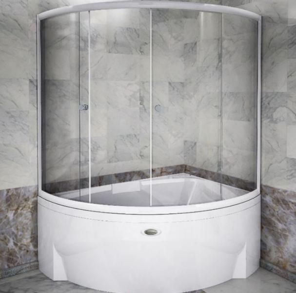 Дизайнеры советуют: декорируем ванную при помощи стеклянных шторок3