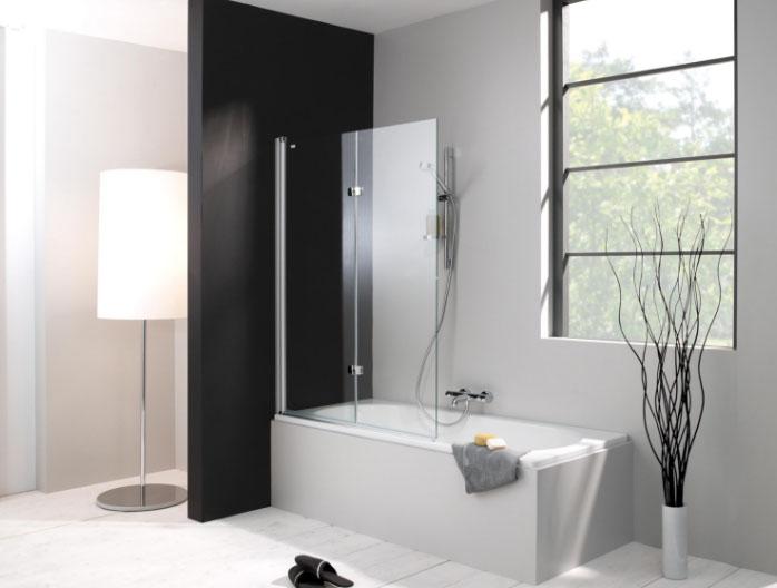Дизайнеры советуют: декорируем ванную при помощи стеклянных шторок4
