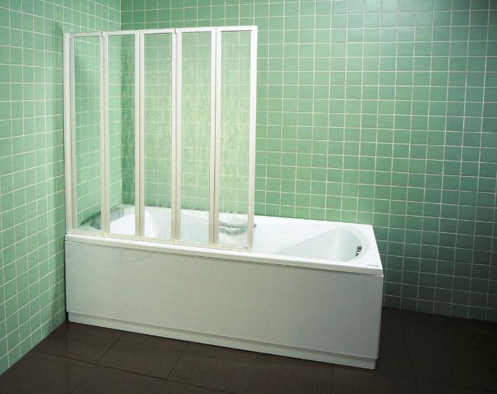 Дизайнеры советуют: декорируем ванную при помощи стеклянных шторок5