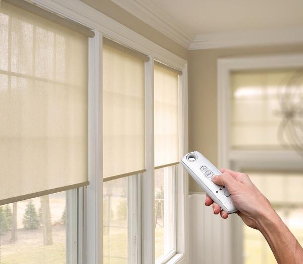Для каких окон подходят шторы с электроприводом?5