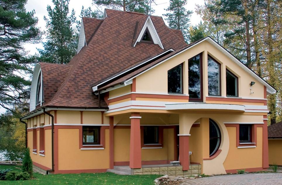 Дом из сип панелей2