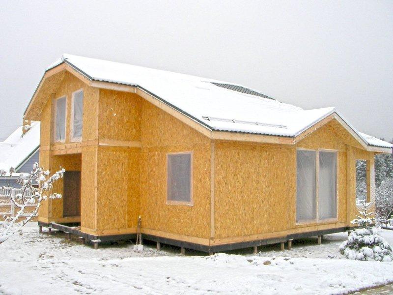 Дом из сип панелей5