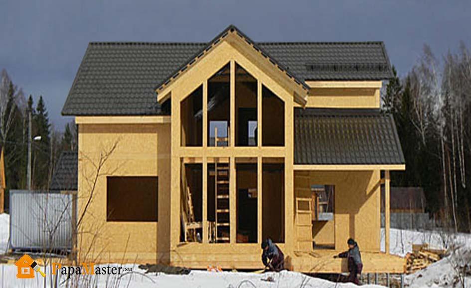 Дом из сип панелей6