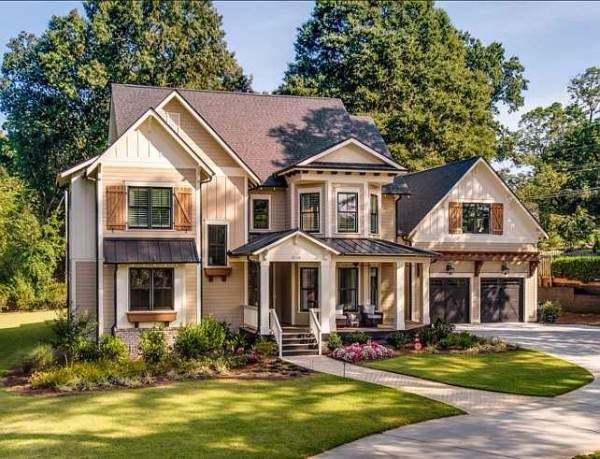 Дом в английском стиле1