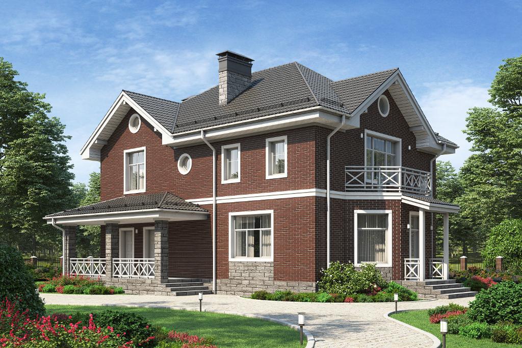 Дом в английском стиле5