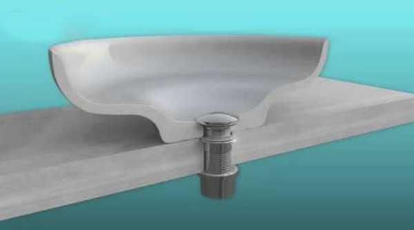 Донный клапан для раковины2