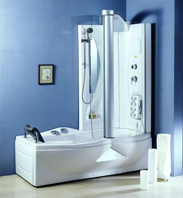 Душевая кабина, совмещенная с ванной2