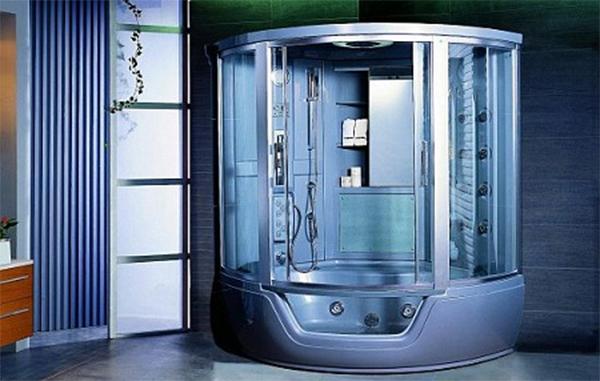 Душевая кабина, совмещенная с ванной3