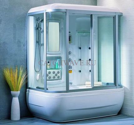 Душевая кабина, совмещенная с ванной4