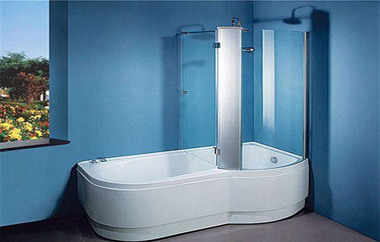 Душевая кабина, совмещенная с ванной6