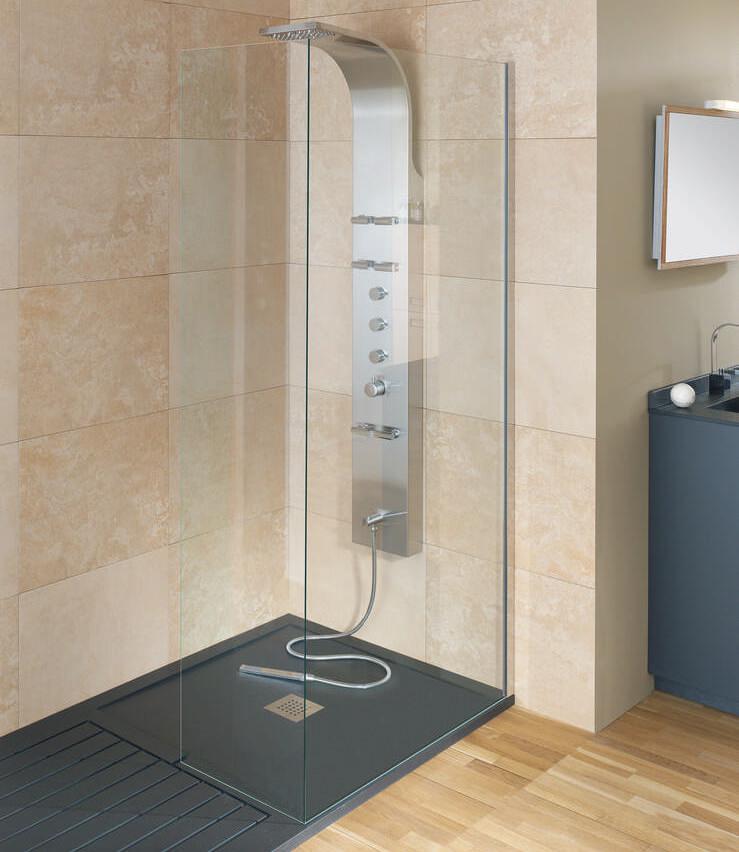 Душевая кабина с низким поддоном – оптимальное решение для небольших ванных комнат2