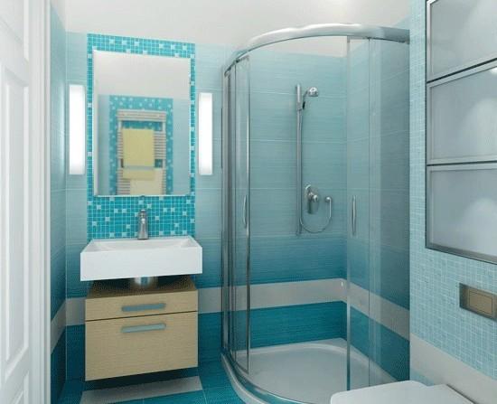 Душевая кабина с низким поддоном – оптимальное решение для небольших ванных комнат4