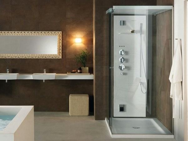 Душевая кабина с низким поддоном – оптимальное решение для небольших ванных комнат0