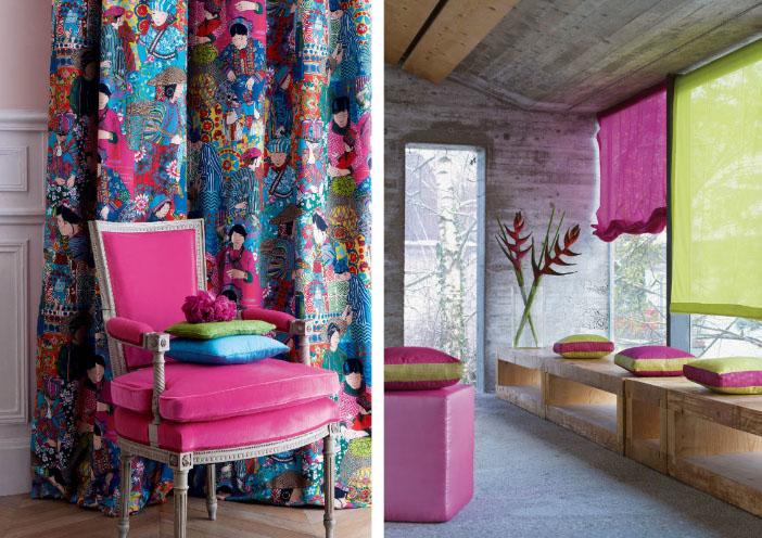 Если повесить цветные шторы на окна— это красиво или нет?2