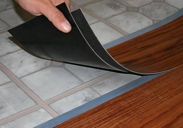 Гибкий ламинат: резиновый и мягкий, клей виниловый, что это такое пол, теплое прорезиненное напольное покрытие0