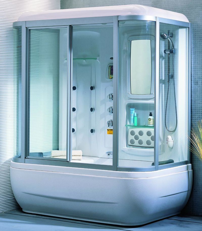 Гидробокс – душевая кабина с ванной5