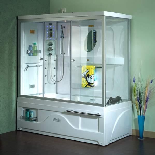 Гидробокс – душевая кабина с ванной6