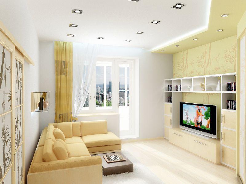 Гостиная 9 кв м: как оформить дизайн внутреннего интерьера?2