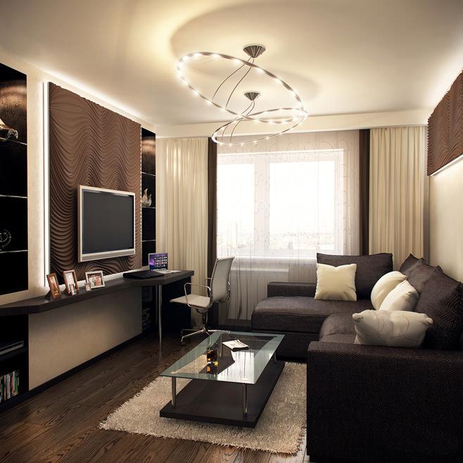 Гостиная 9 кв м: как оформить дизайн внутреннего интерьера?5