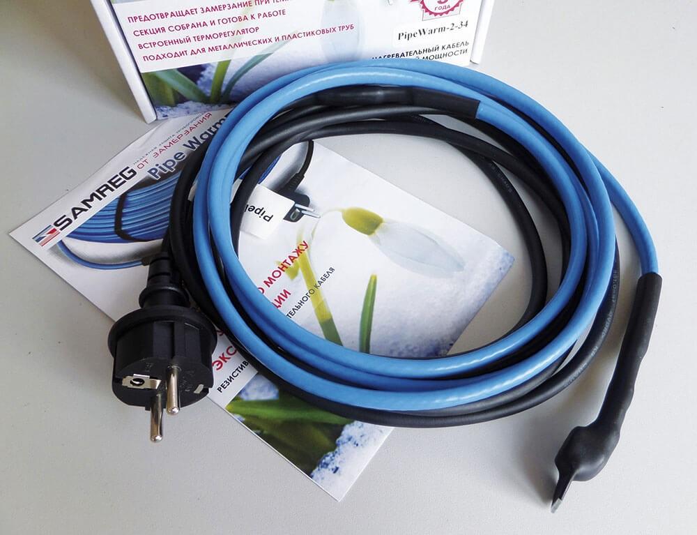 Греющий кабель для водопровода: назначение, выбор, монтаж5