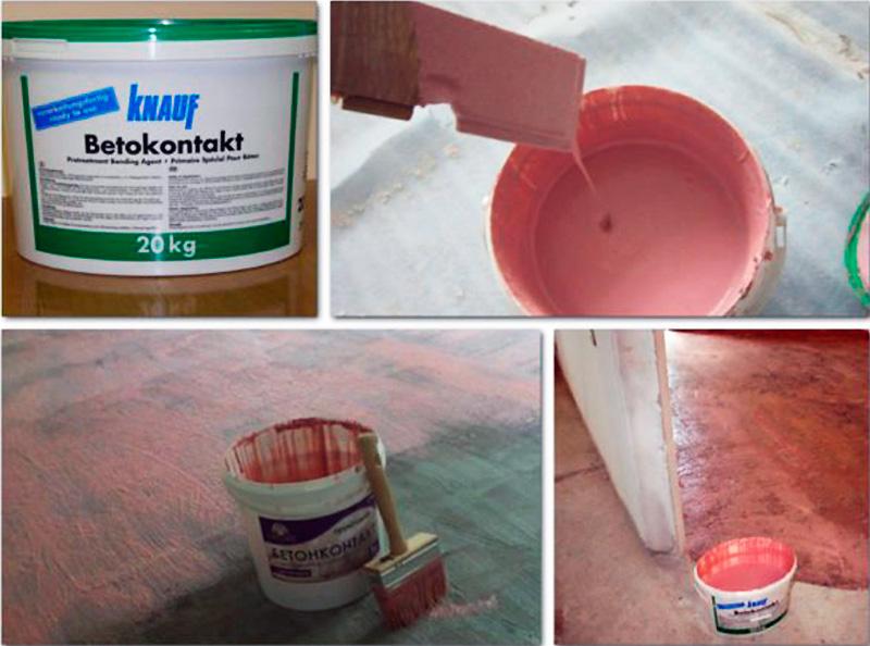 Грунтовка бетоноконтакт – самое лучшее средство для малопористых оснований3