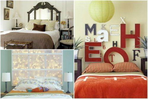 Идеи декора спальни: оформление изголовья кровати1