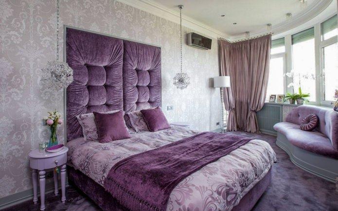 Идеи декора спальни: оформление изголовья кровати2