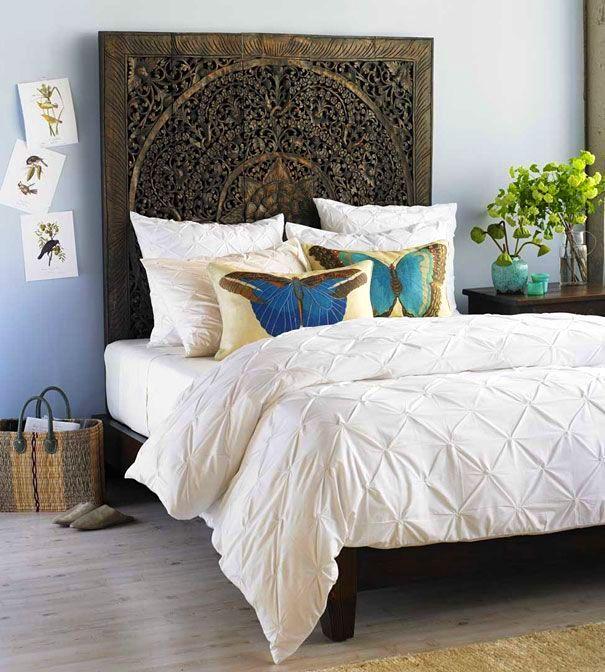 Идеи декора спальни: оформление изголовья кровати3