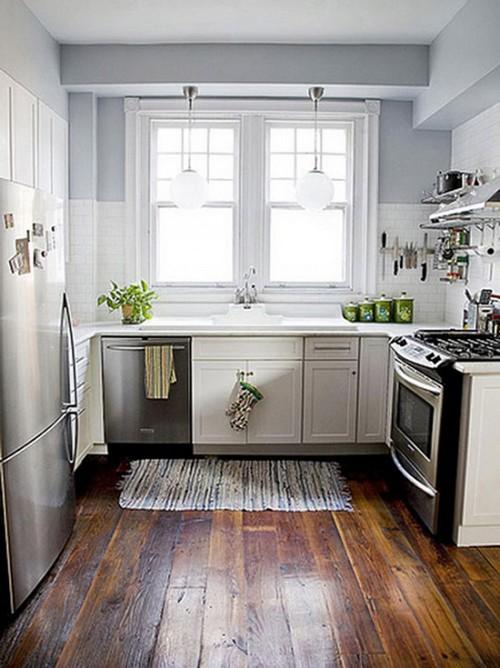 Идеи для маленькой кухни: советы по оформлению, фото4
